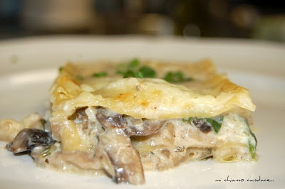 Mushroom Lasagna: Mail, Cooking Light, Mushroom Lasagna