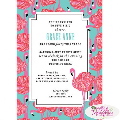 131 Best Lilly Pulitzer Themed Baby Shower Images On Pinterest