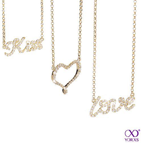 Which necklace do you like best? #Diamantschmuck #Yorxs