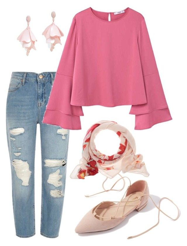 """""""lovelly"""" by aboutmetheblog on Polyvore featuring River Island, Oscar de la Renta Pink Label and MANGO"""