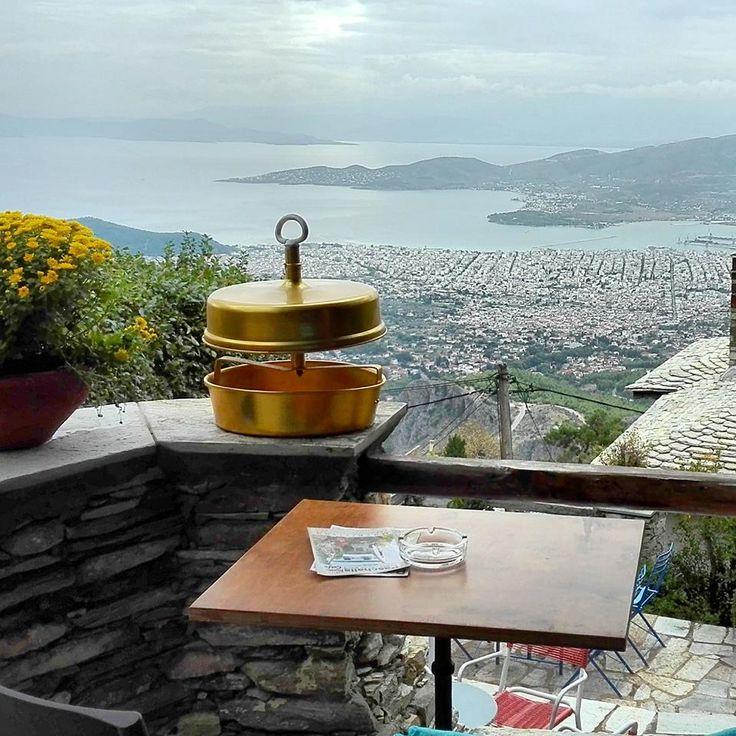 makrinitsa, pelion , greece, paschalis art house, cafe house, gallery