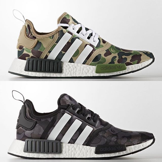 Chubster favourite ! - Coup de cœur du Chubster ! - shoes for men - chaussures pour homme - sneakers - boots - BAPE x adidas NMD R1
