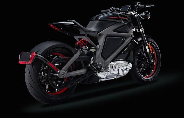 Harley-Davidson Electric Motorcycle 4