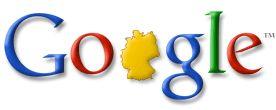 Google Doodle vom 03.10.2003 - Tag der Deutschen Einheit