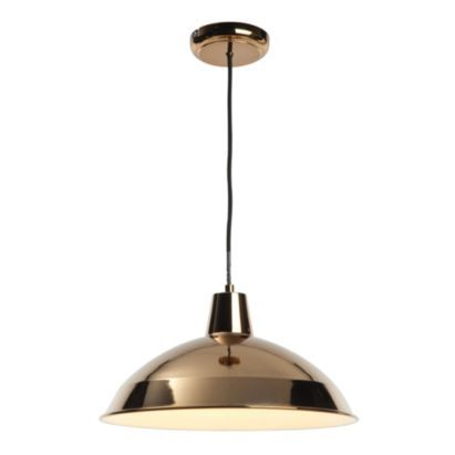 Manison 1 Light Metal Pendant Ceiling Light, 5014838445716