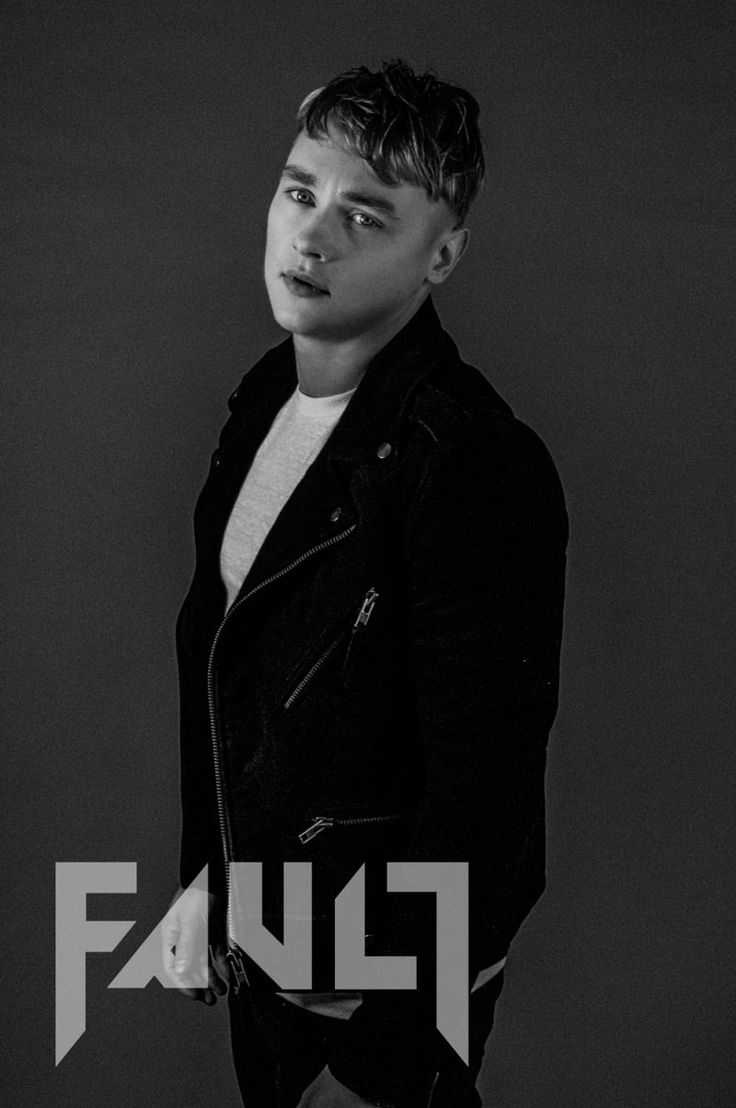 Ben Hardy photographed by Miles Holder for Fault magazine.