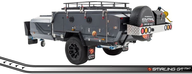 Stirling GT MK2 Off Road Hard Floor Camper Trailer