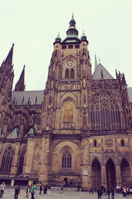 St. Vitus Cathedral, Prague, via Flickr.
