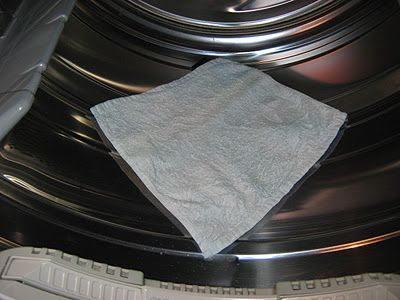 DIY reusable dryer sheets!