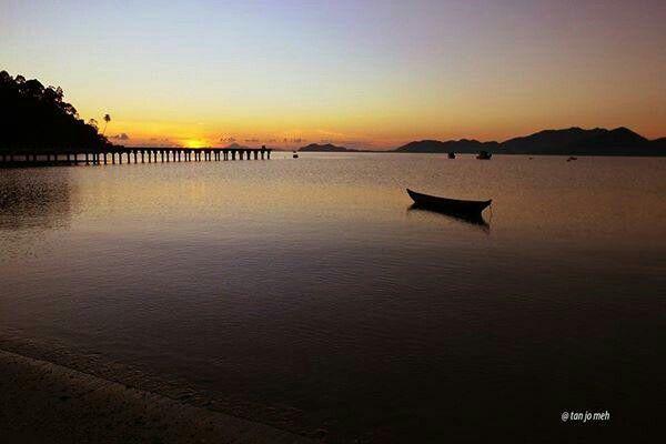sunset Padang Melang