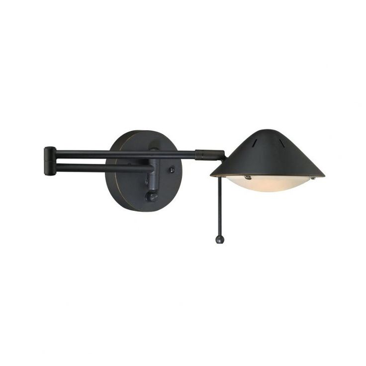 Swing Arm Wall Lamp Black Exterior Wall Light Black Modern Wall Sconces Black Outdoor Wall Sconces