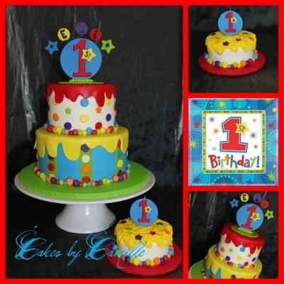 One-derful 1st Birthday Boy By sobanion on CakeCentral.com