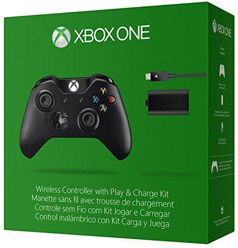 Manette sans fil pour Xbox One - noire + Play & Charge Kit pour Xbox One: Amazon.fr: Jeux vidéo