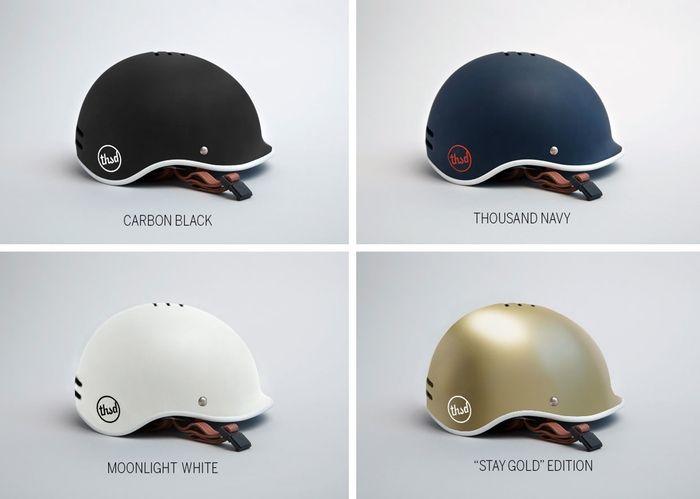 Thousand: Finally, a bike helmet you'd actually want to wear by Thousand — Kickstarter. I would fuck this bike helmet.