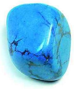Howlite - Blue (Crown): Howlite is a super-calming stone, an excellent antidote to insomnia due to an overactive mind. Focusing on a piece of howlite can assist in journeying outside the body and gaining insight from past lives.