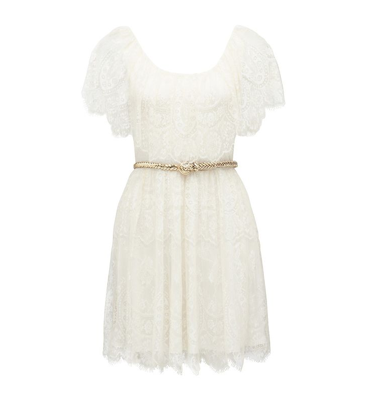 Lydia Lace Cape Dress - Forever New. Soooo pretty!
