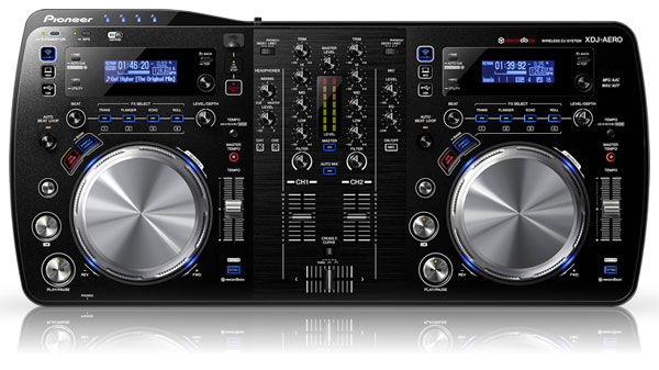 Pioneer's new XDJAERO controller says goodbye wires