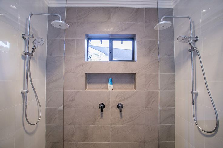 New Double Shower in Ensuite...After Renovation