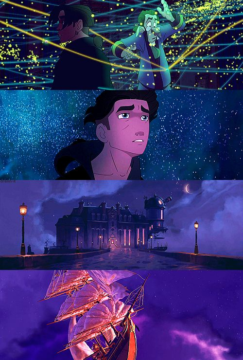 Visually breathtaking Disney movies: 4/?? - Treasure Planet