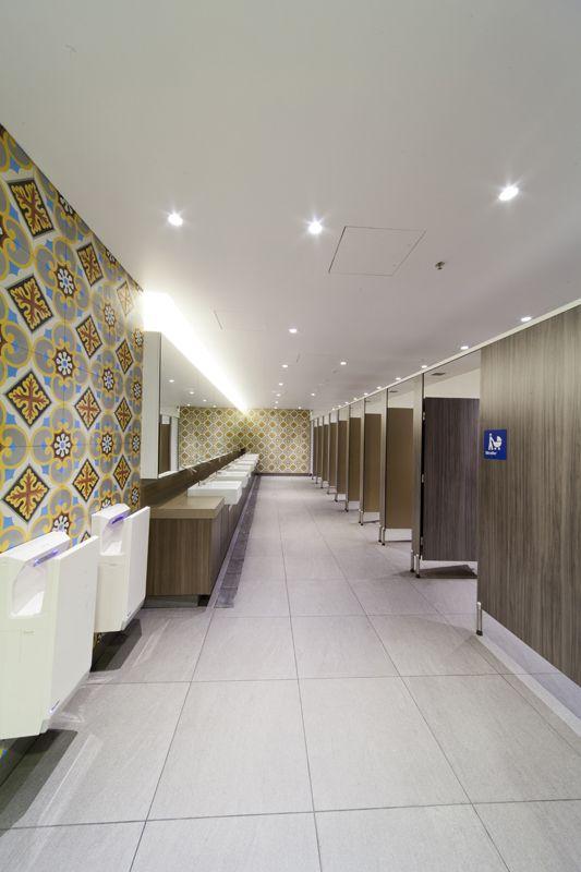 Marrickville Metro bathrooms