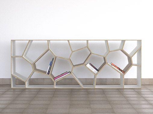 Voronoi Diagramme diagrams voronoidiagram Regale Raumteiler Wände shelves room-dividers walls hyllor rumsavdelare väggar design