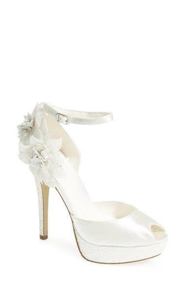Menbur 'Pilar' Floral Ankle Strap Pump (Women) available at #Nordstrom