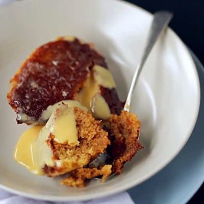 Taste Mag | Sticky malva pudding with brandy sauce @ http://taste.co.za/recipes/sticky-malva-pudding-with-brandy-sauce/