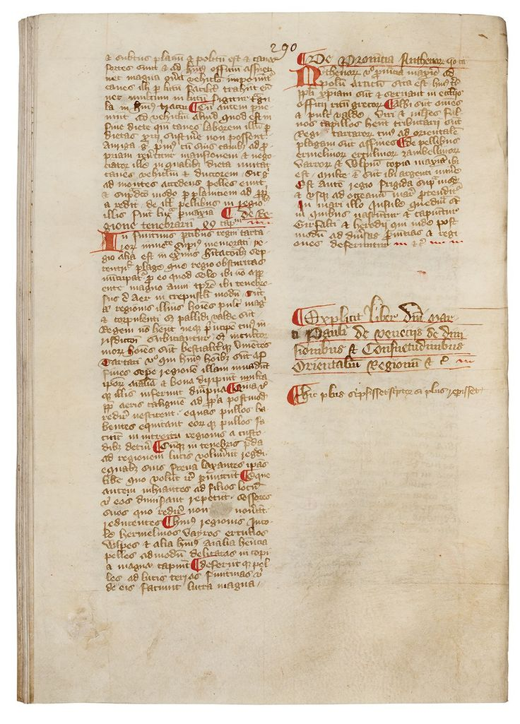 "The Courtenay Compendium: including Marco Polo's ""Description of the World"" and other texts"