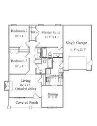 Shotgun Style House Plans   View Plan          cabin    Shotgun Style House Plans   View Plan