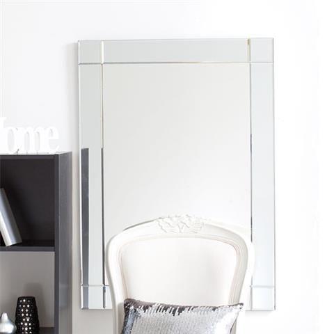 Rectangle Bevelled Edge Mirror