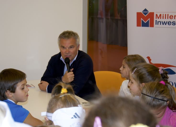 Piotr Woźniacki w Bażantowo Sport