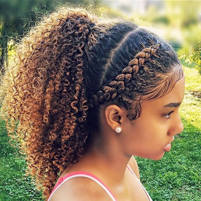 "10.6k Likes, 86 Comments - Kienya Booker (@kienyabooker) on Instagram: ""Love this on #daughterKaay @kaay.s_  #needscolortouchup #hairgrowth"""
