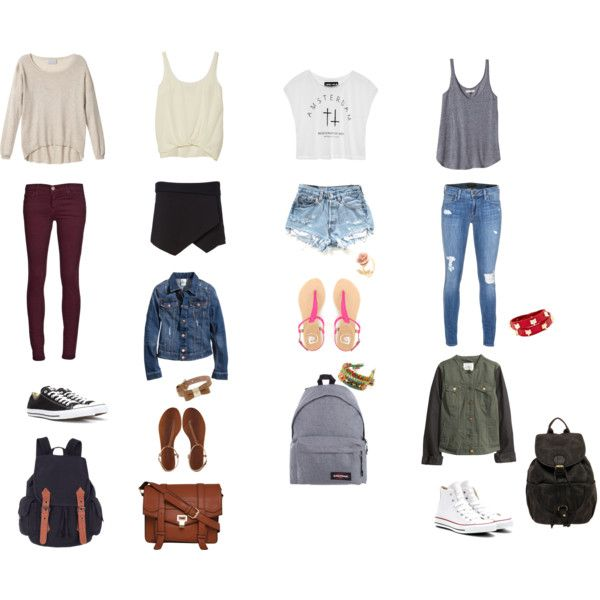 outfit ideas for school polyvore