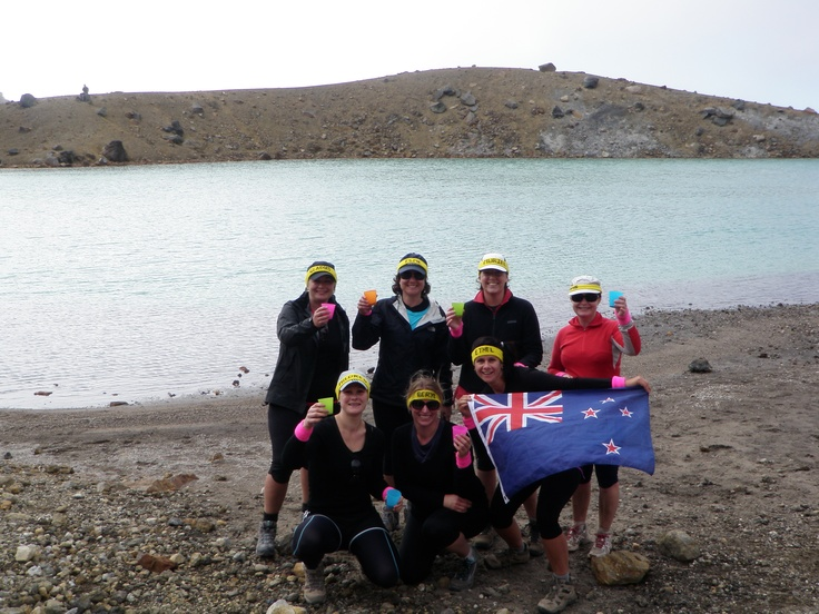What a place - just beautiful!!  Cheers Tongariro National Park and you lovely ladies, for taking up another Challenge I set out for us and donning on the beaut gears I presented you with!  Me Ethel, very pleased and looking forward to next years Challenge #greatwalker