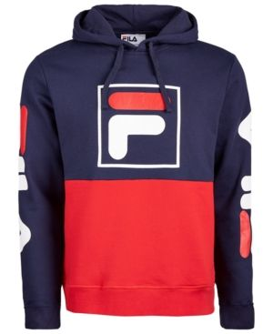 38eb1b3dee83 Fila Men Marzio Colorblocked Fleece Hoodie in 2019 | Products ...