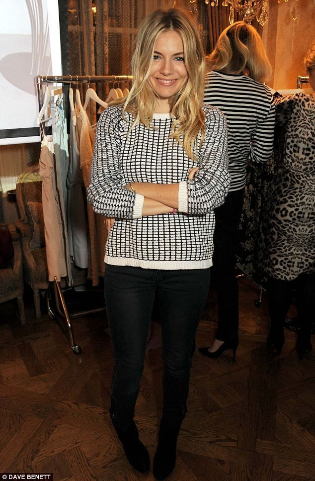 1000 images about style icon sienna miller on pinterest Sienna miller fashion style tumblr