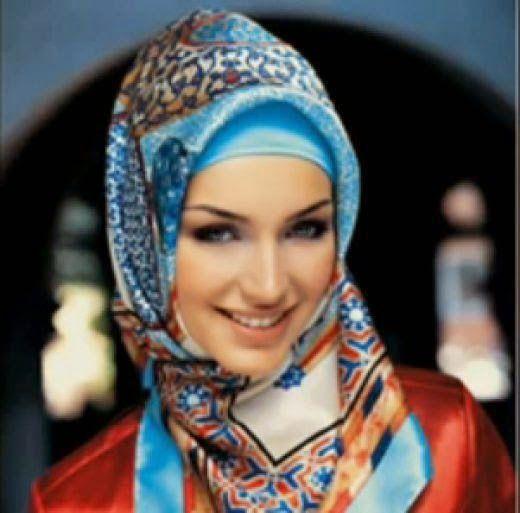 Colourfull hijab (burqa) 2013 - Stylish Dp's