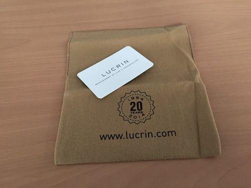 Smart & Simple: Lucrin사 아이팟 클래식 파우치 구입