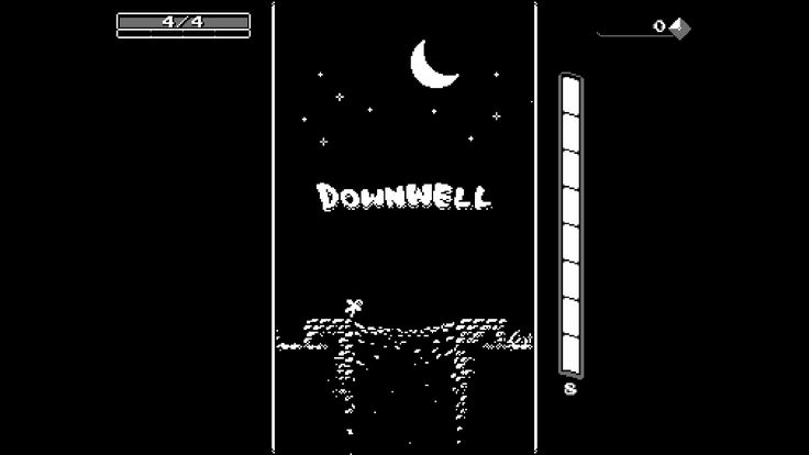 #downwell #steam #8-bit #game