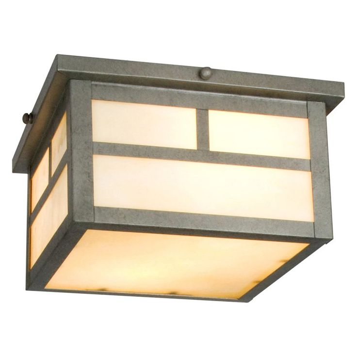 Maxim Craftsman Outdoor Ceiling Light - 5H in.