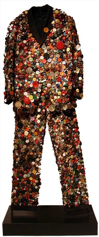 Button Suit made by Ruby Ann Kittner