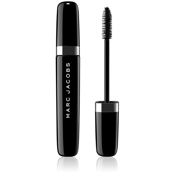 Marc Jacobs Beauty O!Mega Lash Volumizing Mascara (£19) ❤ liked on Polyvore featuring beauty products, makeup, eye makeup, mascara, beauty, fillers, marc jacobs and marc jacobs mascara