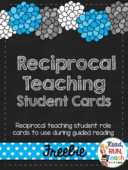 These reciprocal teaching cards are how I learned to effectively use this strategy with my students during guided reading.  After a lot of trial and error, I created these to meet my needs, and they work fabulously with my readers.  With guiding prompts to help students learn to clarify, summarize, question, and predict, these cards have made a big impact on my reading instruction.