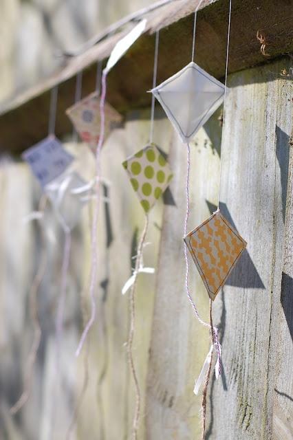 Creating Paper Dreams: Tutorial- Kite Mobile