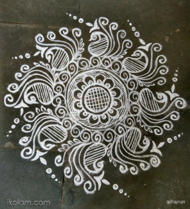 Mehndi Designs Rangoli : Mehndi design rangoli makedes