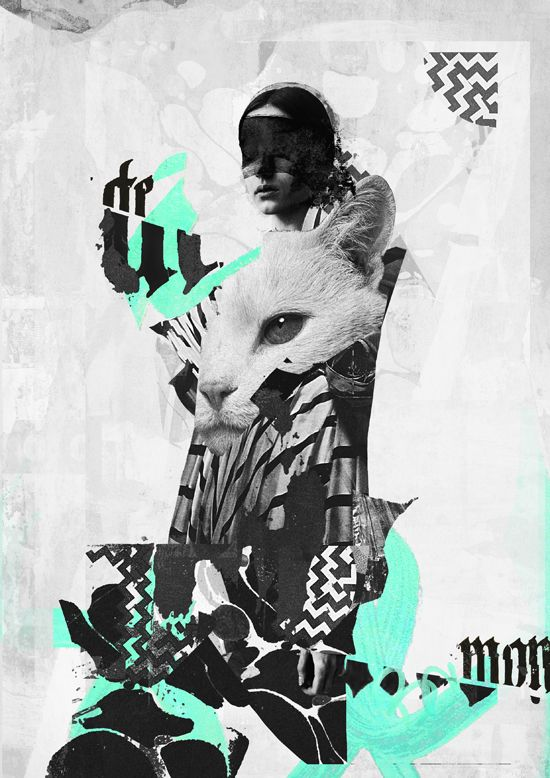 Collages 2016 on Behance