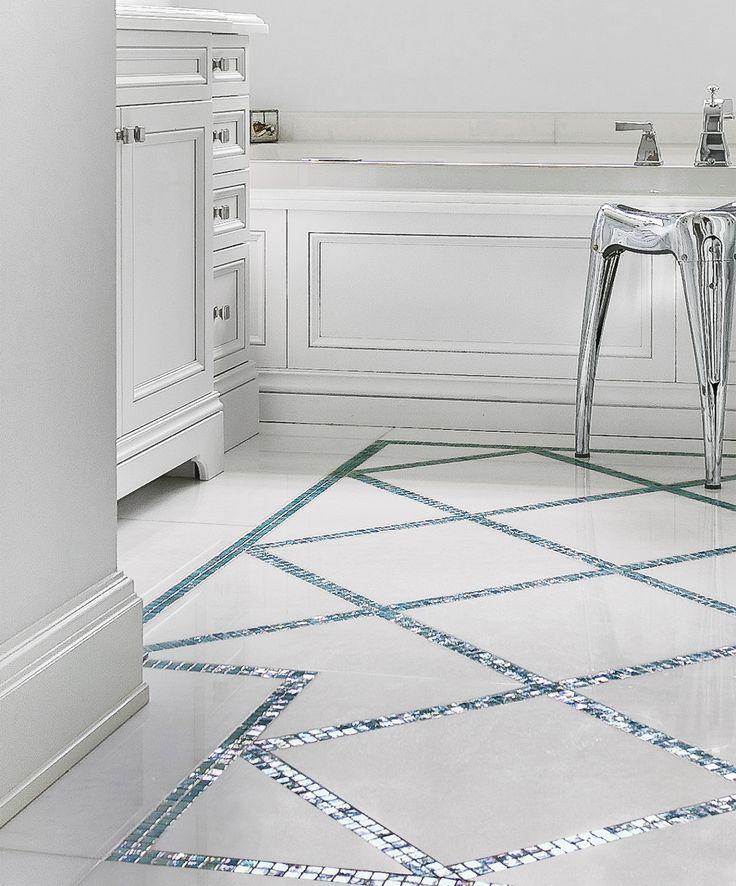 Glass Tile Borders Bathroom: 17 Best Ideas About Marble Bathrooms On Pinterest