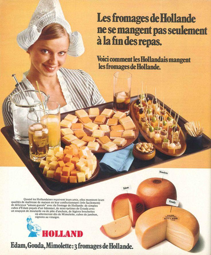 Edam, Gouda, Mimolette, 3 fromages de Hollande - Jours de France, 20 octobre 1975