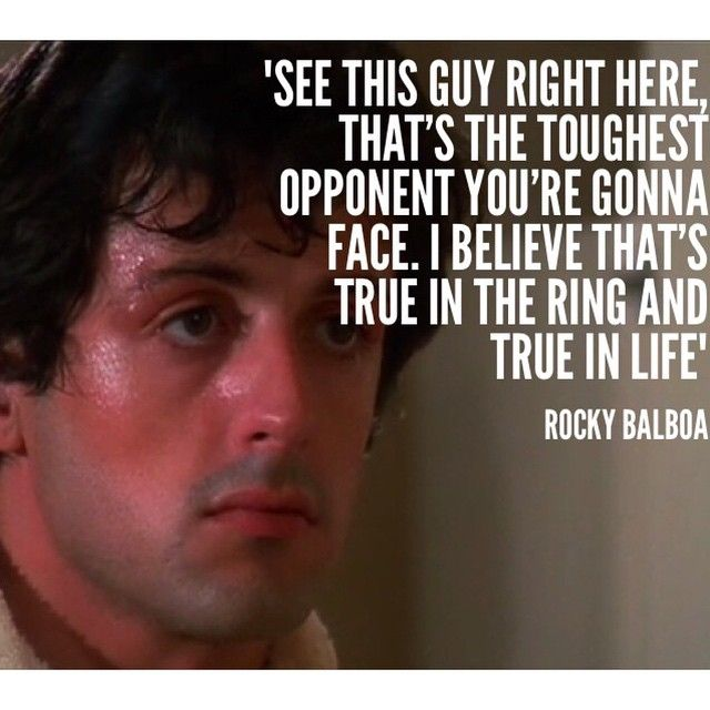 Rocky Balboa Life Is Hard Quote: 17 Best Images About Rocky Balboa On Pinterest