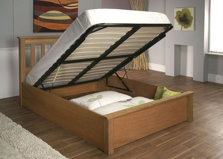 the terran oak storage bed frame from limelight will add a touch of style and character - Cheap Bed Frame